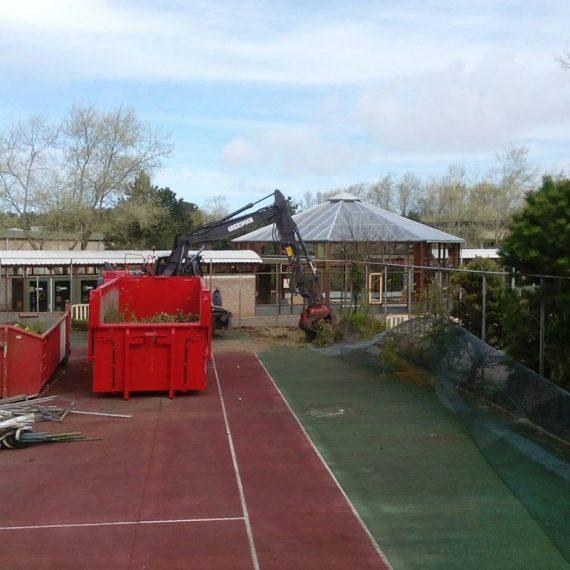 Verwijderen Tennisbaan Zandvoort