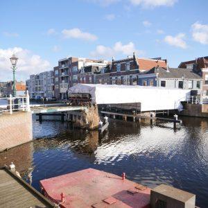 Werkzaamheden Kleine Havenbrug Leiden