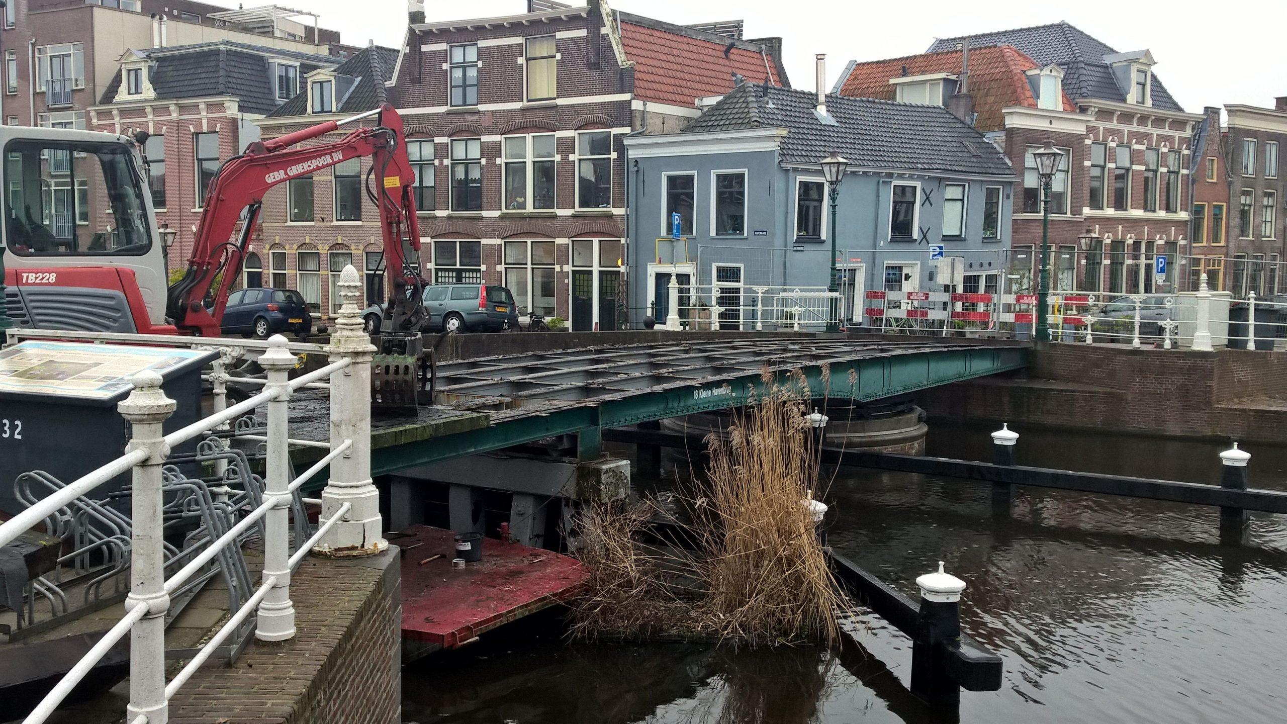 Renovatie Kleine Havenbrug en Scheluwbrug
