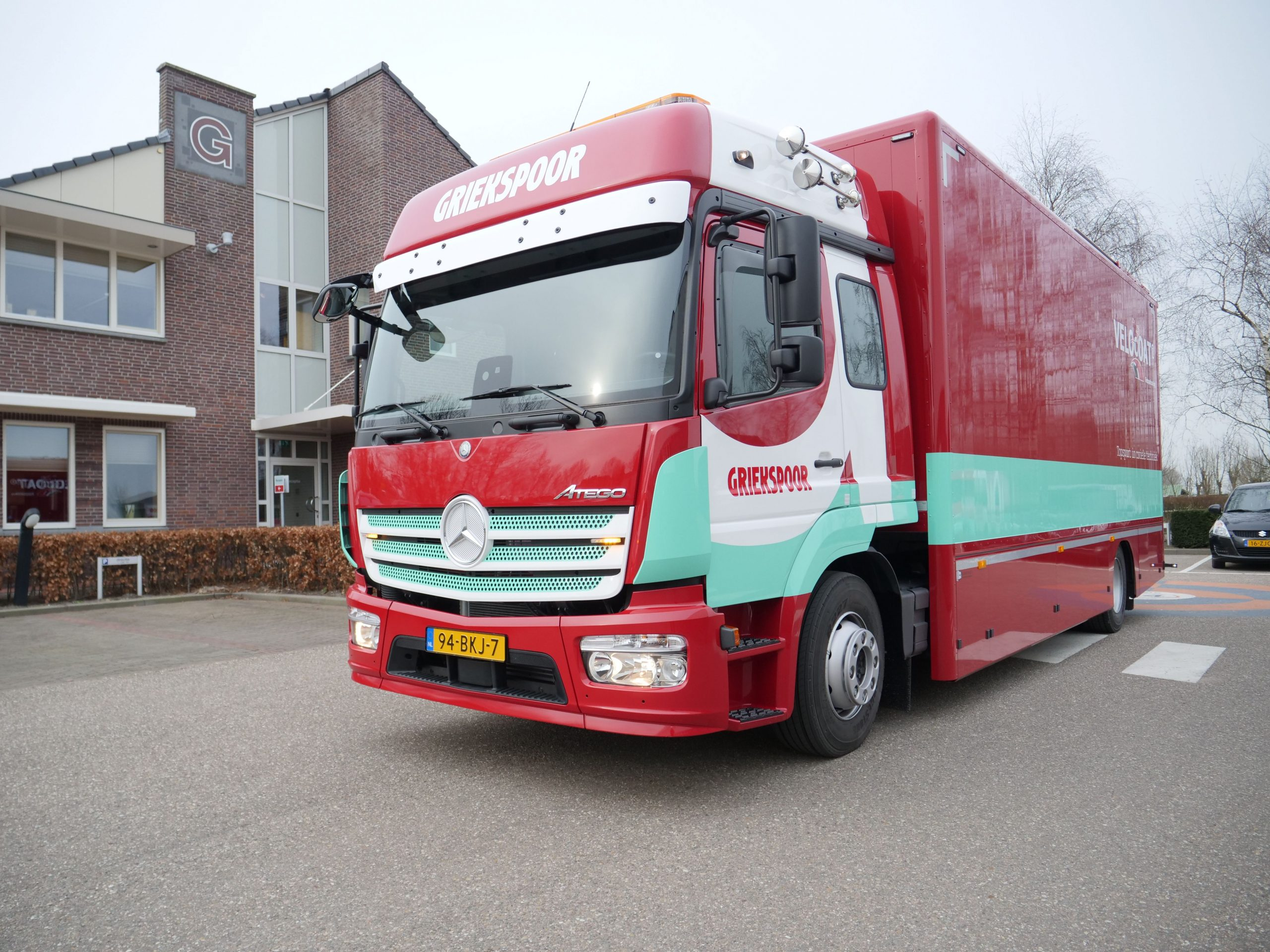 Nieuwe vrachtwagen Velocoat