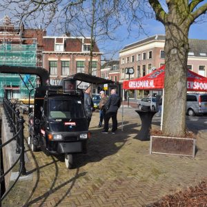 Kleine Havenbrug Leiden opening