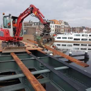 Renovatie Kleine Havenbrug en Scheluwbrug Leiden