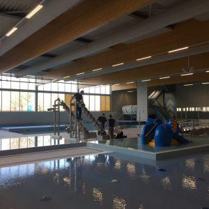 Werkzaamheden zwembad SKWA