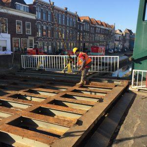 Onderhoud Rijnbrug Leiden