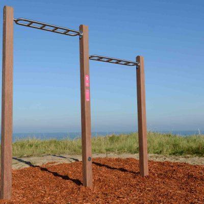 Griekspoor plaatings fitnesstoestellen Zandvoort 1