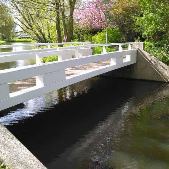 Onderhoud voetgangersbrug Beveren