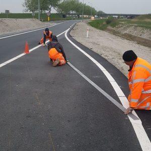 Nieuwe Bennebroekerweg Markering