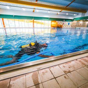 Werkzaamheden zwembad Sporthoeve Badhoevedorp