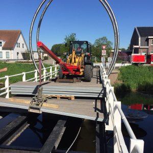 Abbenes brugdek vervangen