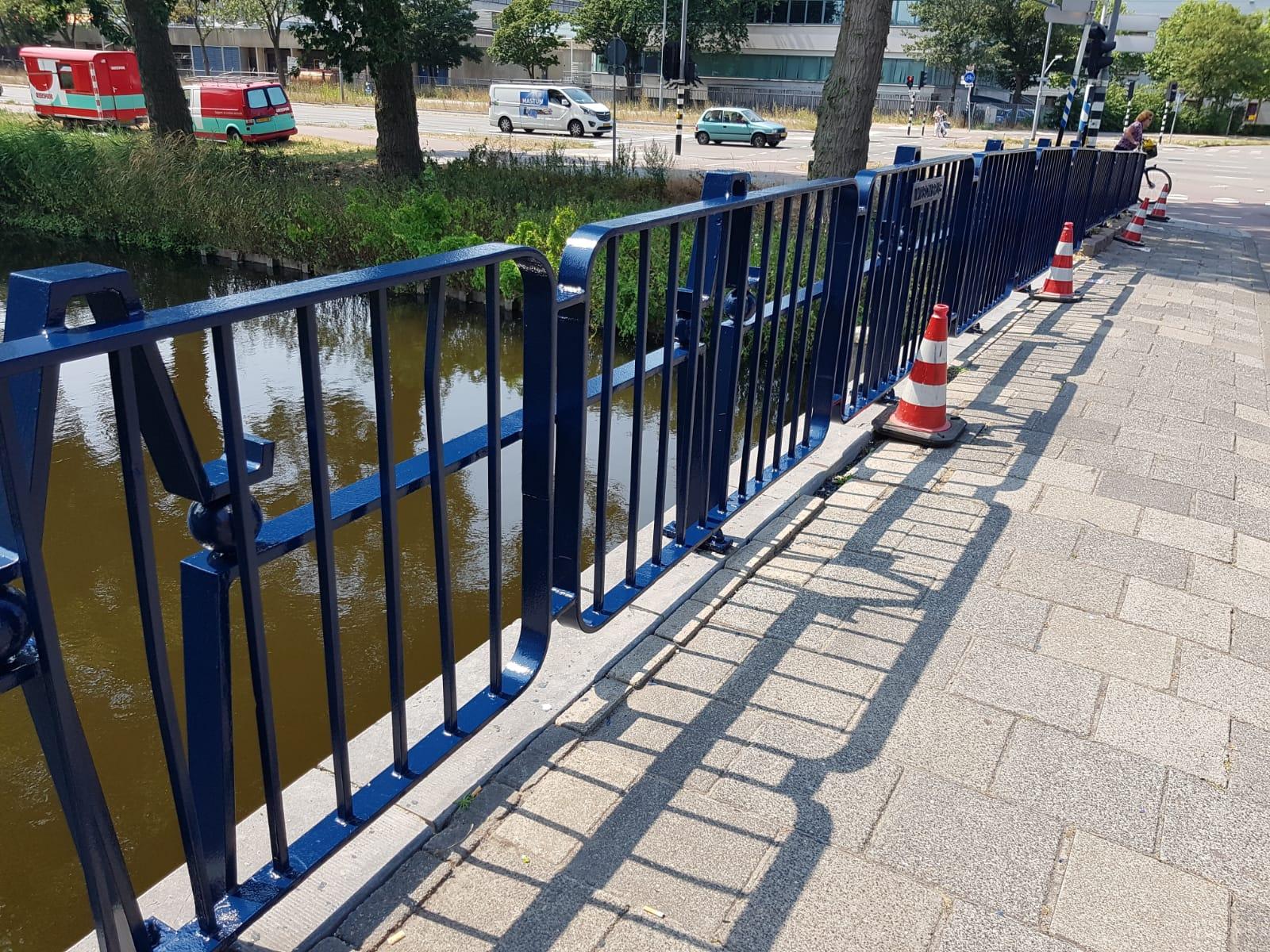 Leuningwerk bruggen in Haarlem renoveren