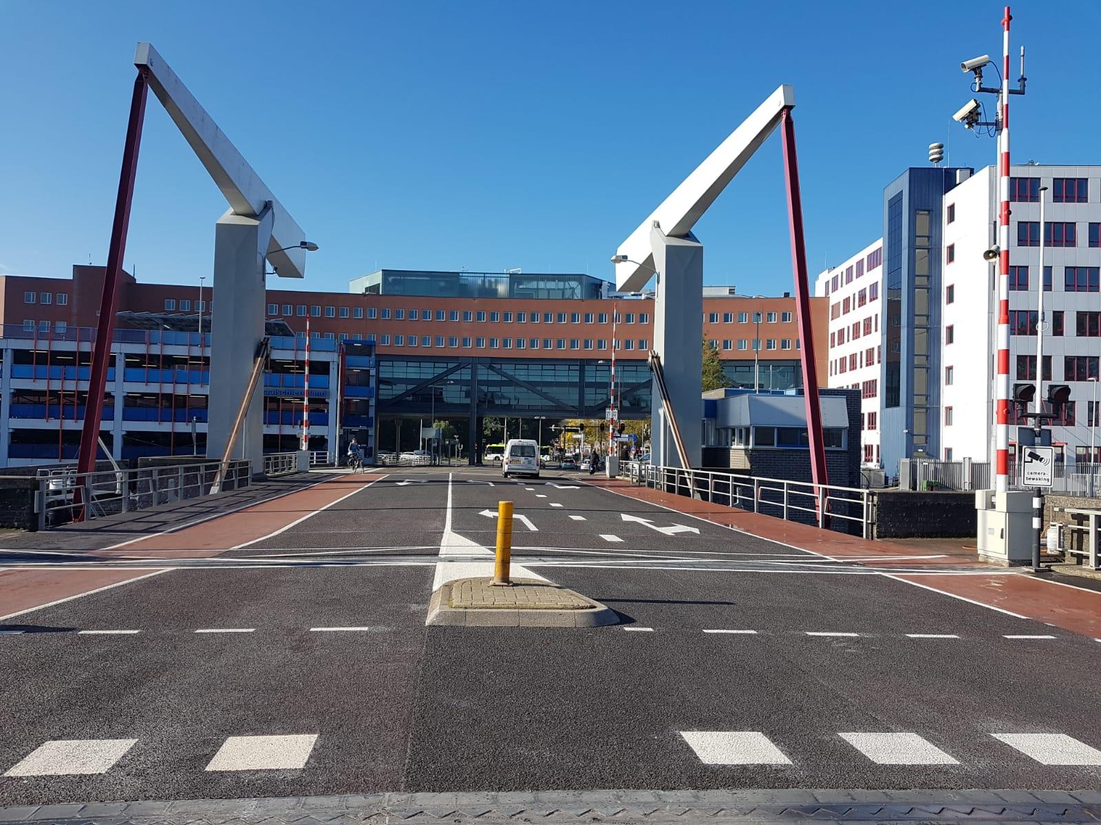 Slijtlaag Tesselsebrug Alkmaar vervangen