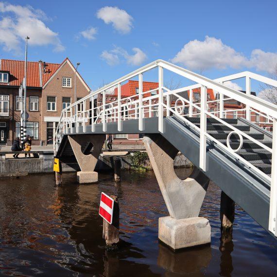 Nieuwe constructie Edisonbrug