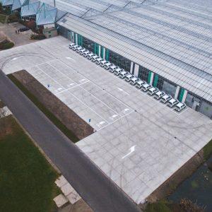 Markering bedrijventerrein Rijsenhout