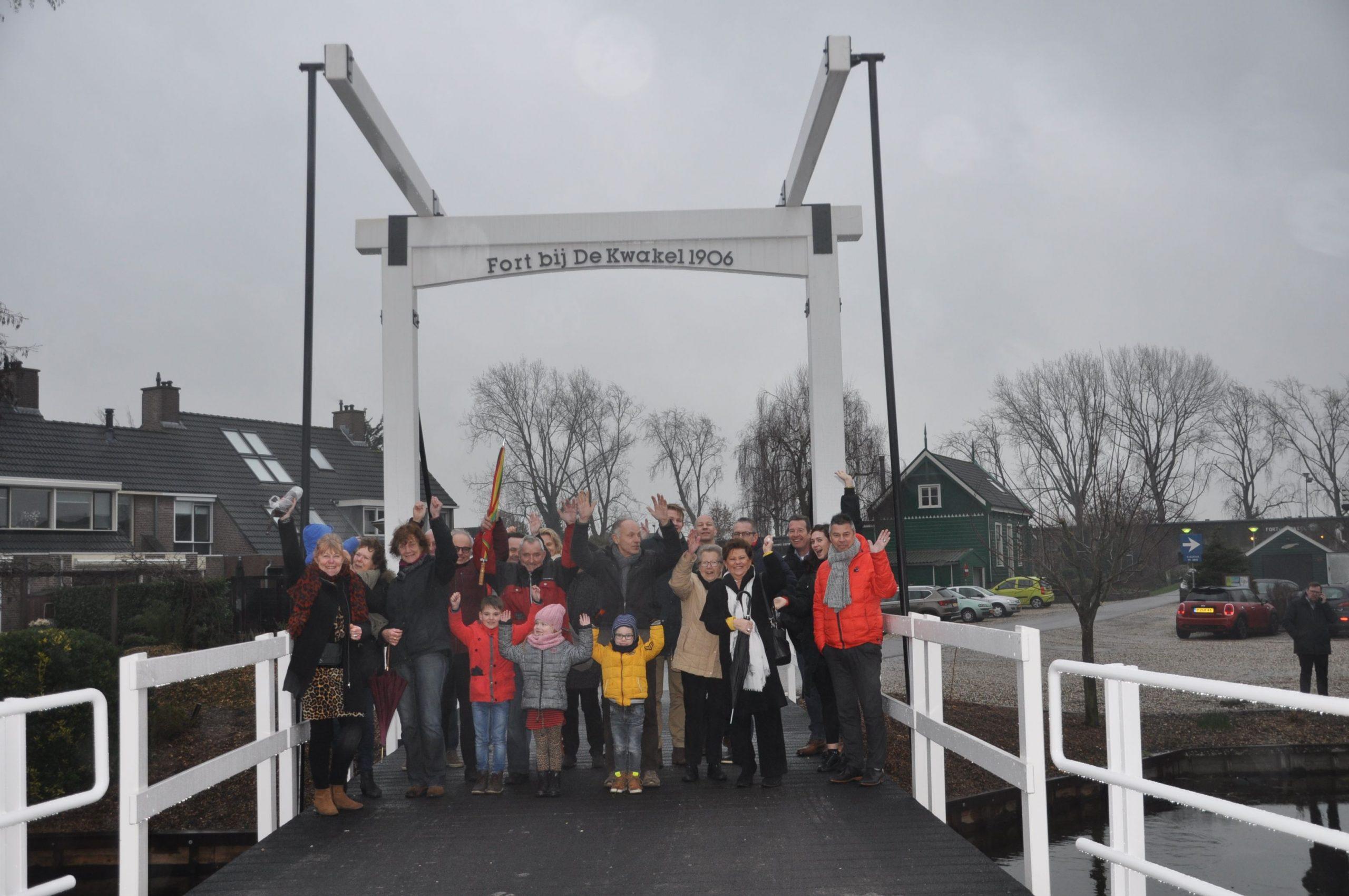 Opening brug De Kwakel