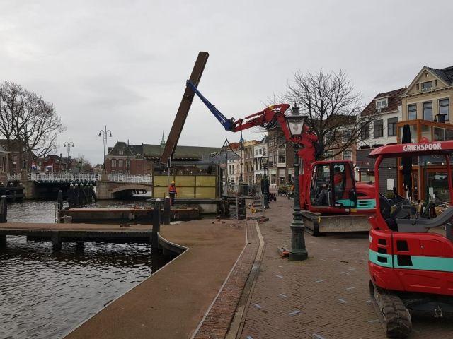 Steiger Leiden gerenoveerd