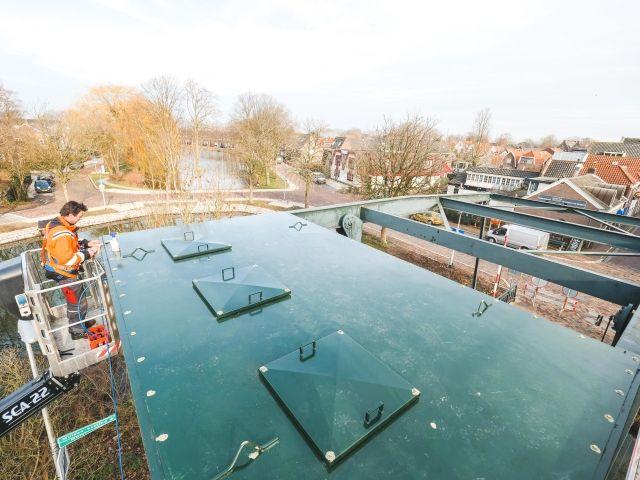 Ballast aanpassen A'damse Poortbrug Muiden