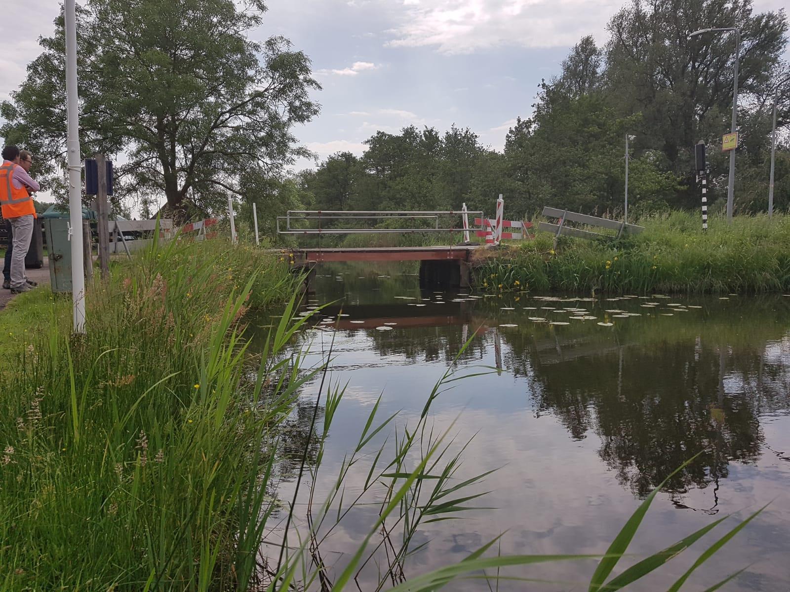 Ophaalbrug Muiderberg Sterker gemaakt