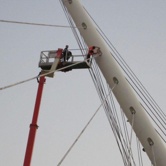 Calatrava bruggen Hoofddorp
