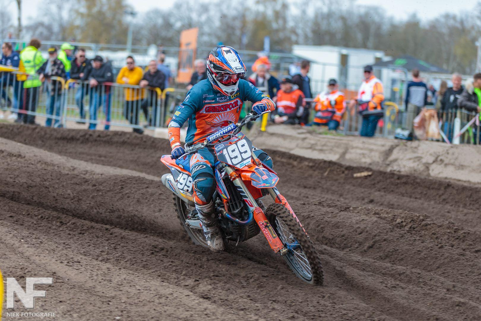 Lars op Motocross GP 2019 Valkenswaard