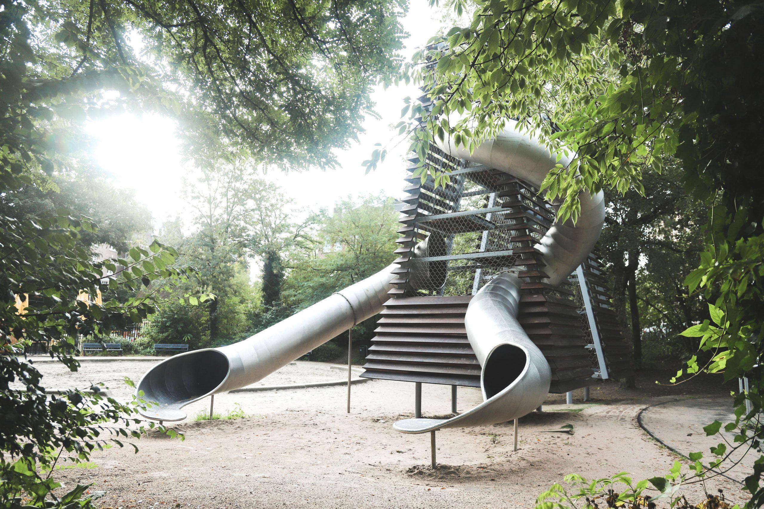 Renovatie speelplek de Vondeltorens