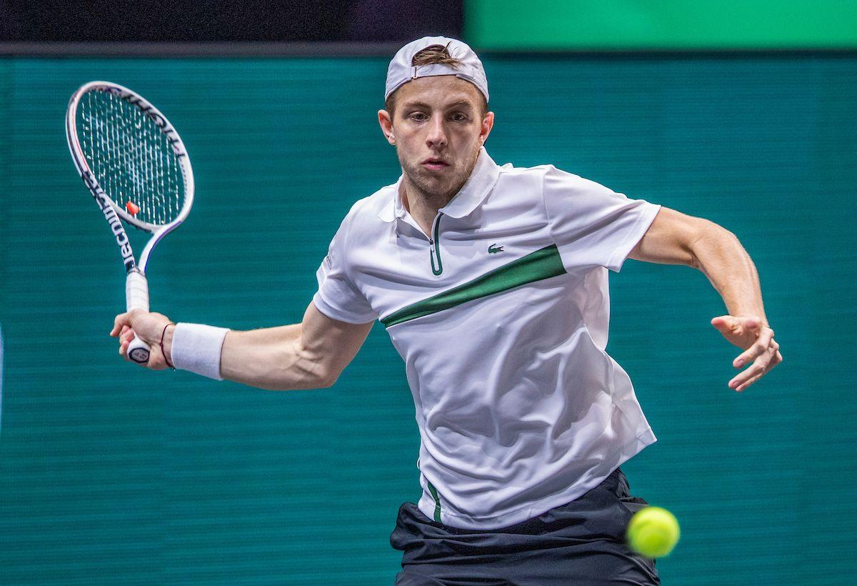 Tallon op ATP-toernooi