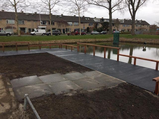 Steiger Nieuw-Vennep gerenoveerd