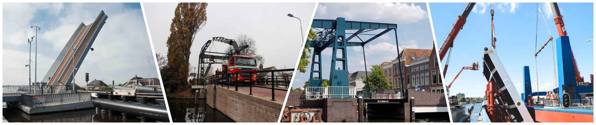 collage beweegbare bruggen