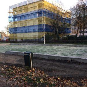 Renovatie sportvelden Amsterdam
