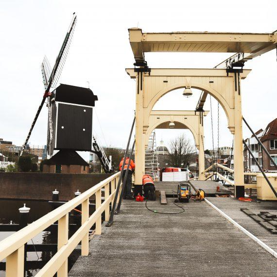 Onderhoudswerkzaamheden Rembrandtbrug