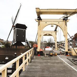 Werkzaamheden Rembrandtbrug Leiden 5