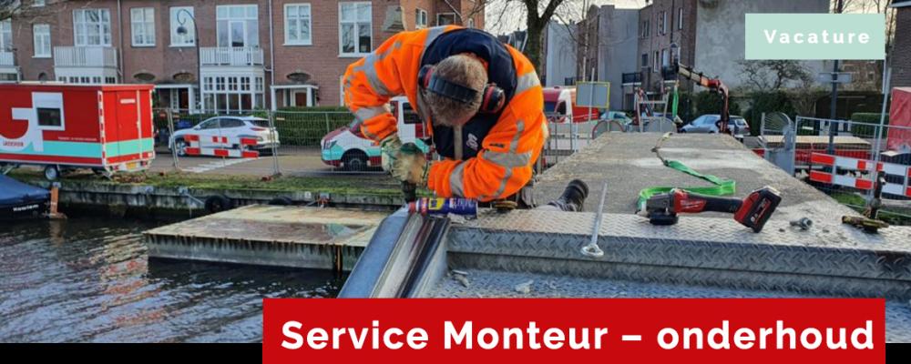 Vacature Service Monteur - onderhoud