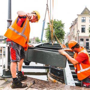Scheluwbrug Leiden renovatie